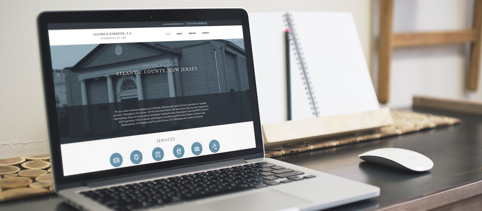 responsive law firm design